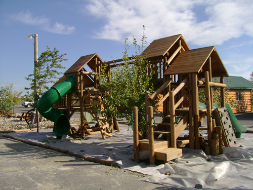 Badlands 100 Acre Wood Playground by Bears Playgrounds