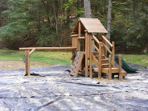 Watoga State Park Picnic Shelter by Bears Playgrounds