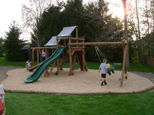 Webster, NY Ponderosa Playground by Bears Playgrounds