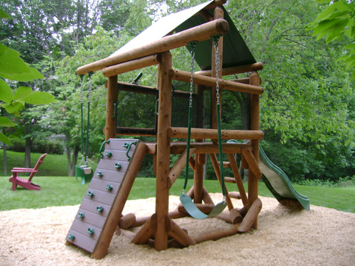 Rush, NY: Proudest Monkey Tree Fort by Bears Playgrounds