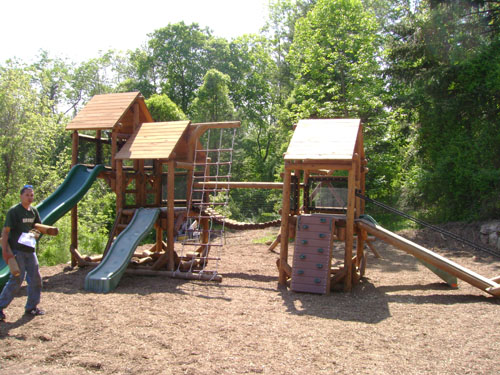 Chicago Swiss Playground by Bears Playgrounds